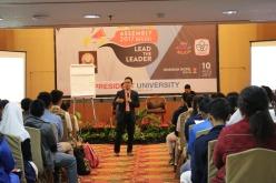 Seminar komunikasi organisasi dalam OSIS Assembly di Bekasi (10 Agustus 2017).