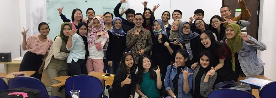 dosen dan mahasiswa president university